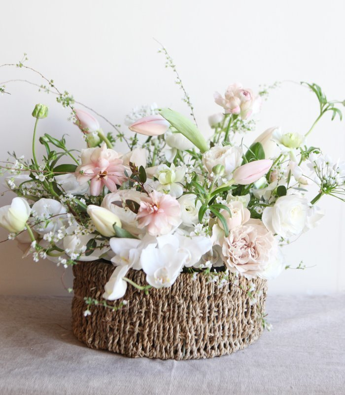 Pure Bloom Basket