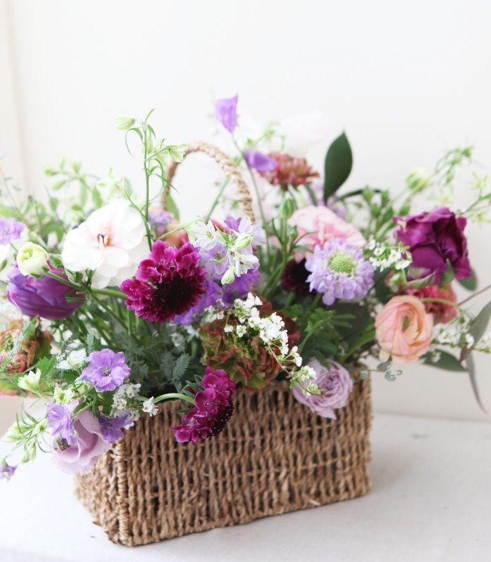 Square Garden Basket