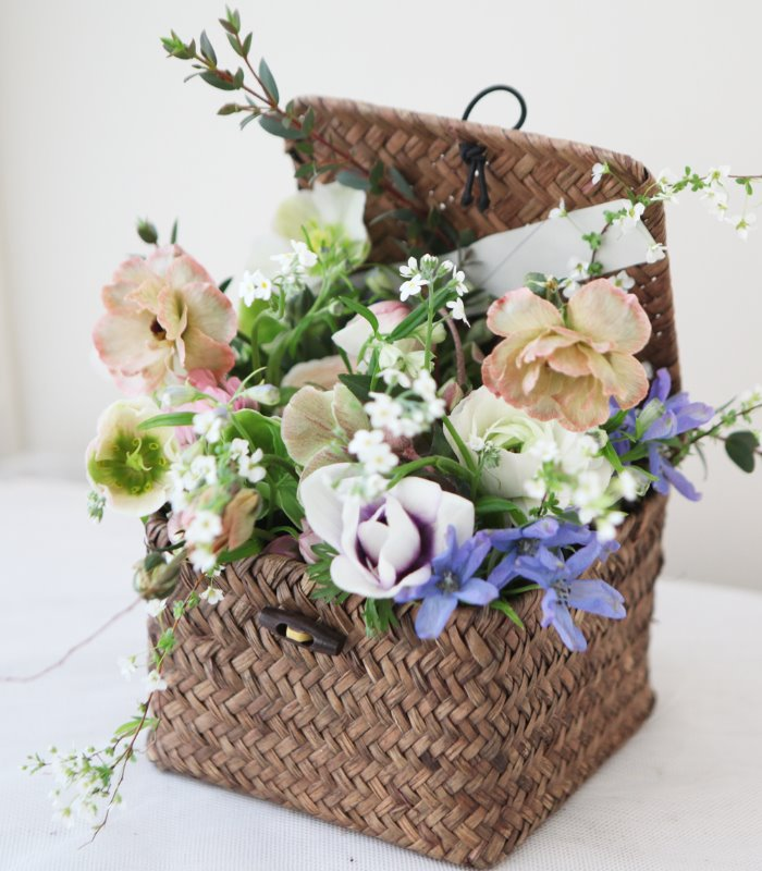 Square Mini Flower Basket